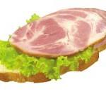 Бутерброд скопченостями