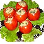 помидоры, фаршированные мясом и рисом
