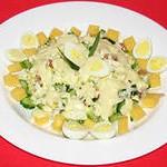 салат из яиц